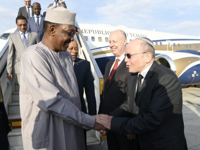 President Of Chad Pays Historic Visit To Israel