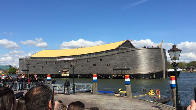 Dutch 'Noah's Ark' To Set Sail For Israel