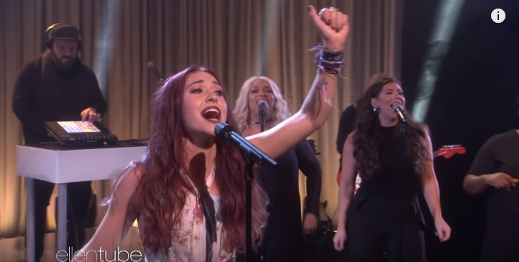Lauren Daigle Slammed By Some For Singing On The Ellen Show – Critics Silenced By Her Response