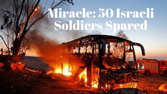 Miracle Spares the Lives of 50 Israeli Soldiers