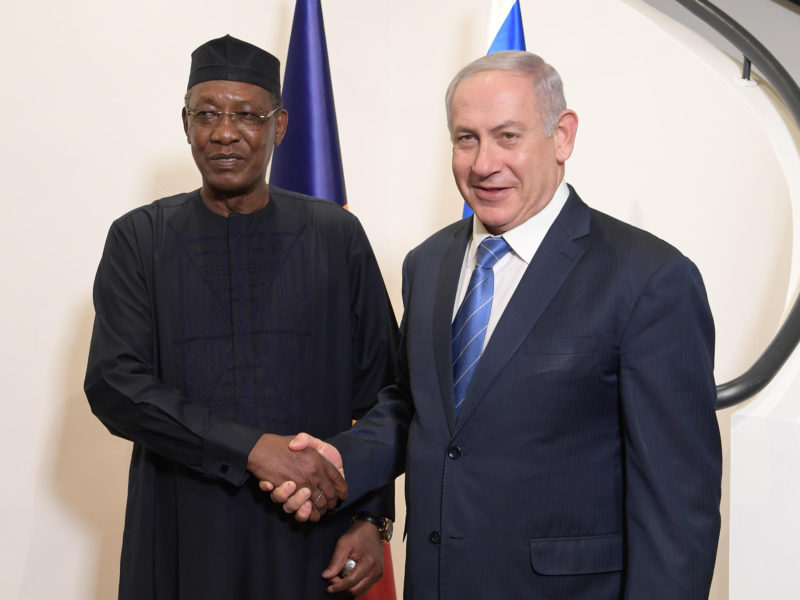 Netanyahu To Travel To Chad, Announce Resumption of Diplomatic Relations