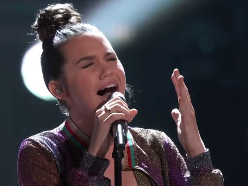 14-Year-Old Girl Worships God On The Voice By Performing