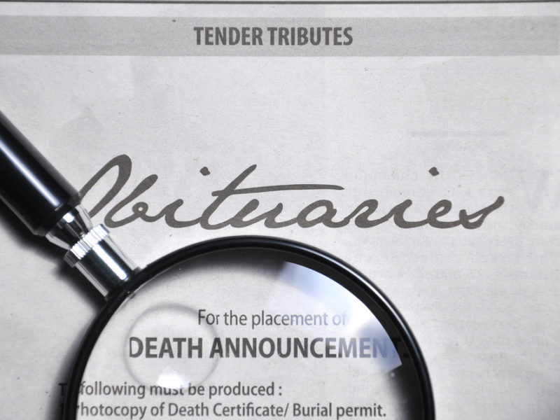 What Would Your Obituary Say?