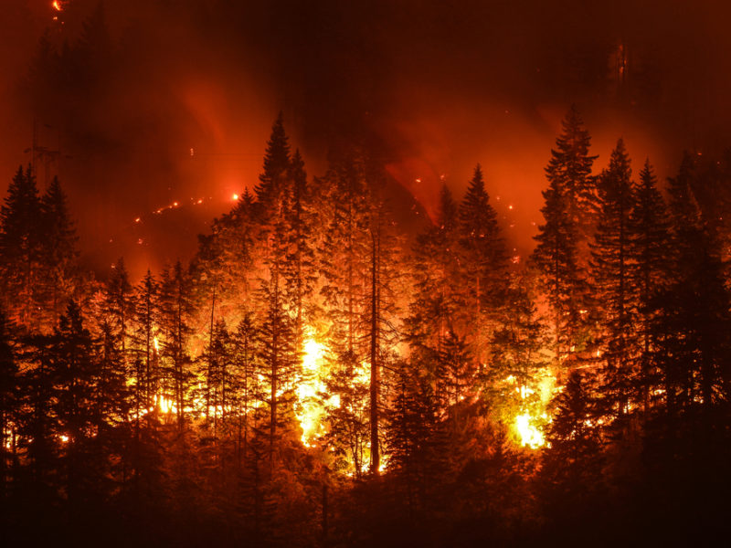 Amazing Testimony: God Protected Pastor's Home From California Wild Fire
