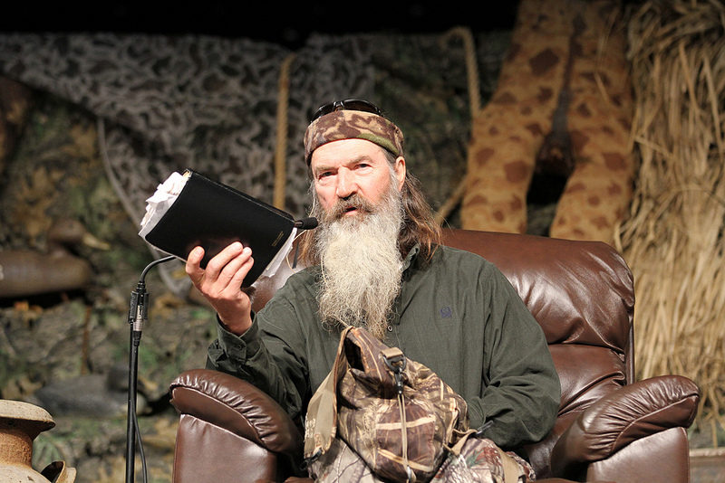 Duck Dynasty's Phil Robertson Responds To Criticism Of New Book
