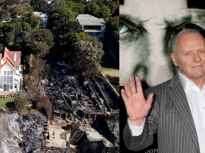 Sir Anthony Hopkins' Malibu Mansion Miraculously Saved From California Wildfires