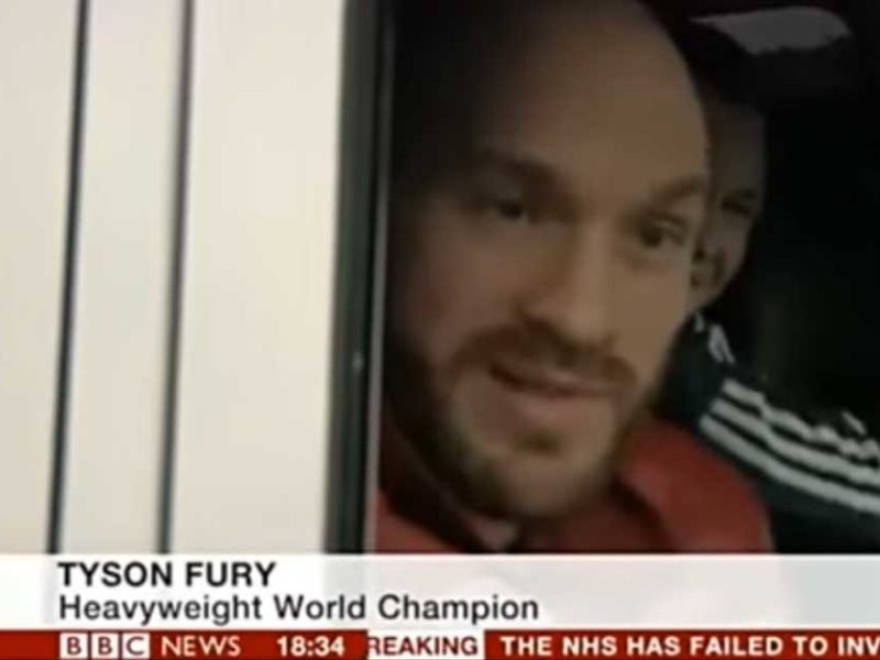 World Heavyweight Boxer Preaches About Jesus On BBC News