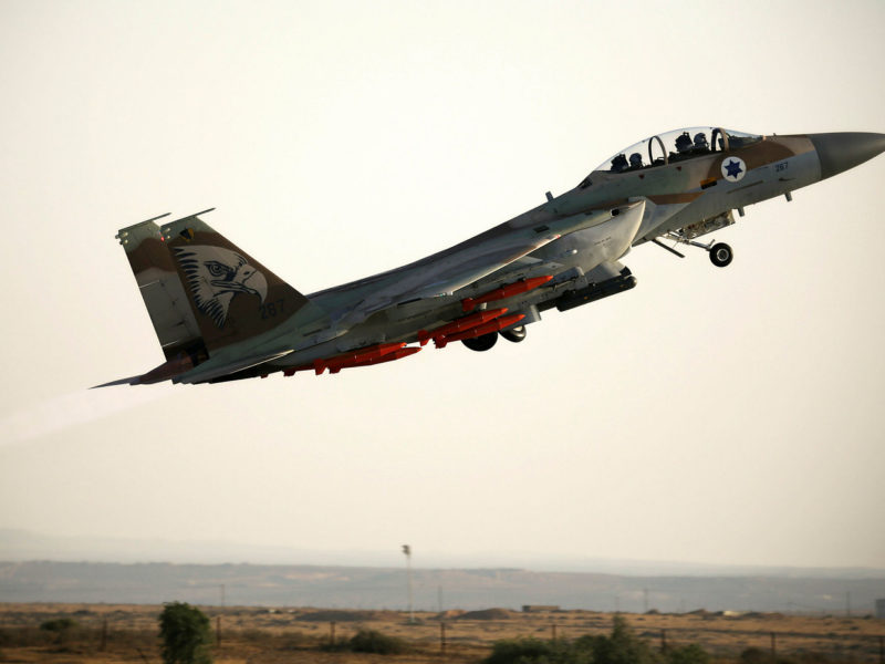 Israel Bombs Multiple Iranian Targets in Syria after Rocket Fired at Israel