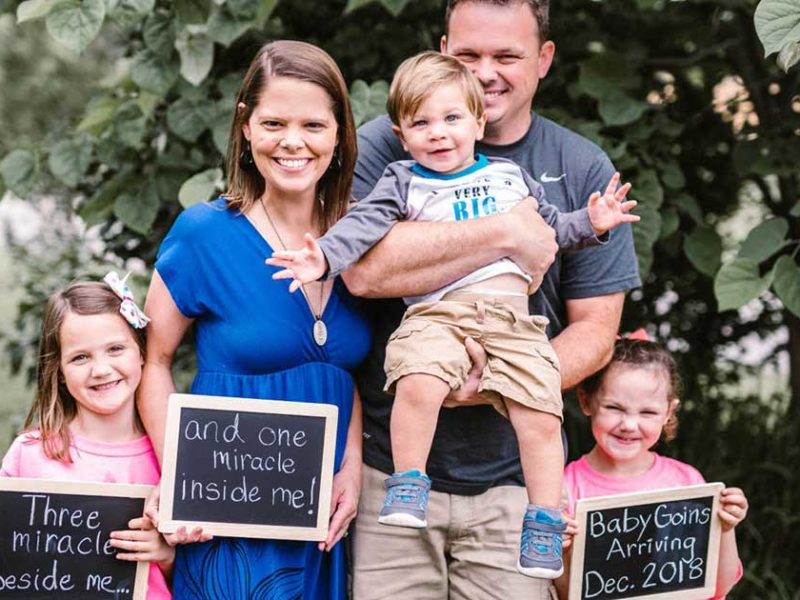 Couple With Fertility Issues Adopted Three Kids Then A Miracle Happened