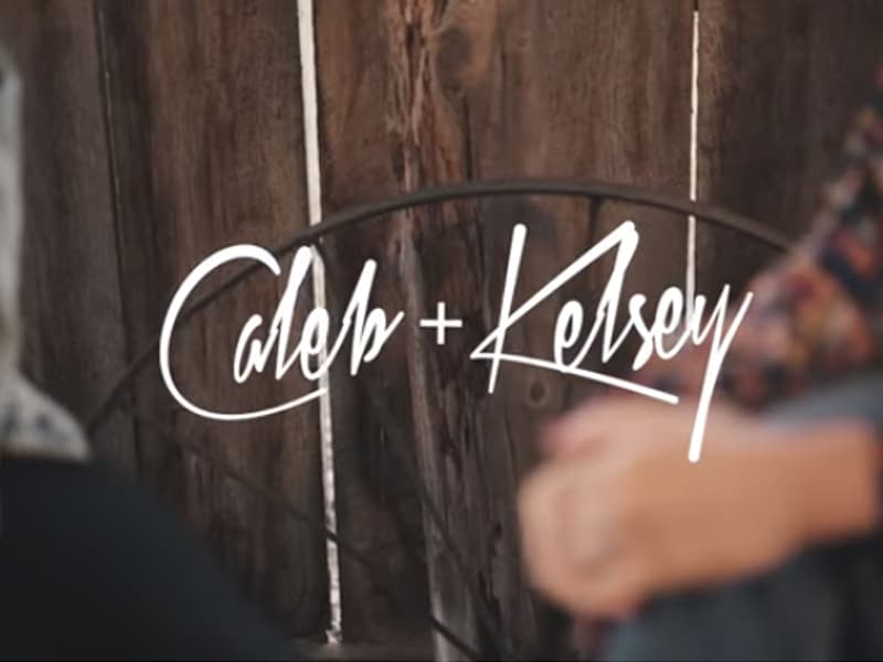 YouTubers Caleb And Kelsey Sing Beautiful Rendition of