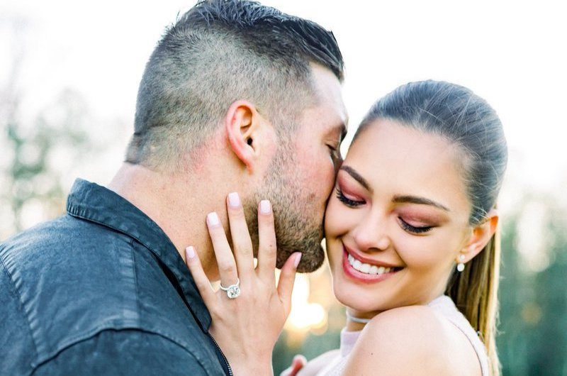 Tim Tebow and Demi-Leigh Nel-Peters Get Engaged