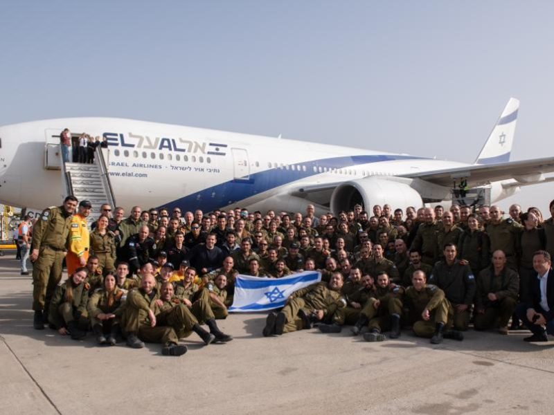 Israeli Rescue Team Lands in Brazil as Death Toll Climbs