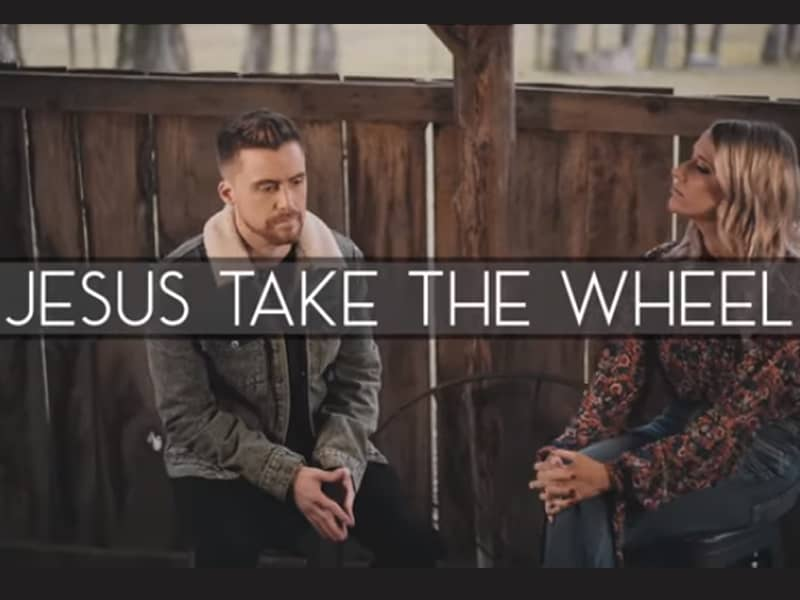 YouTubers Caleb And Kelsey Sing Beautiful Rendition of 'Jesus Take The Wheel'