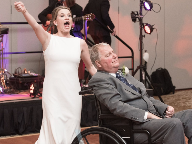 The Sweetest Father-Daughter Dance ever!