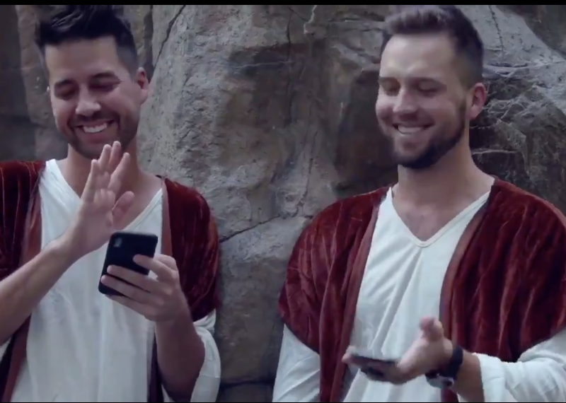 New John Crist Video: If Bible Characters Had iPhones