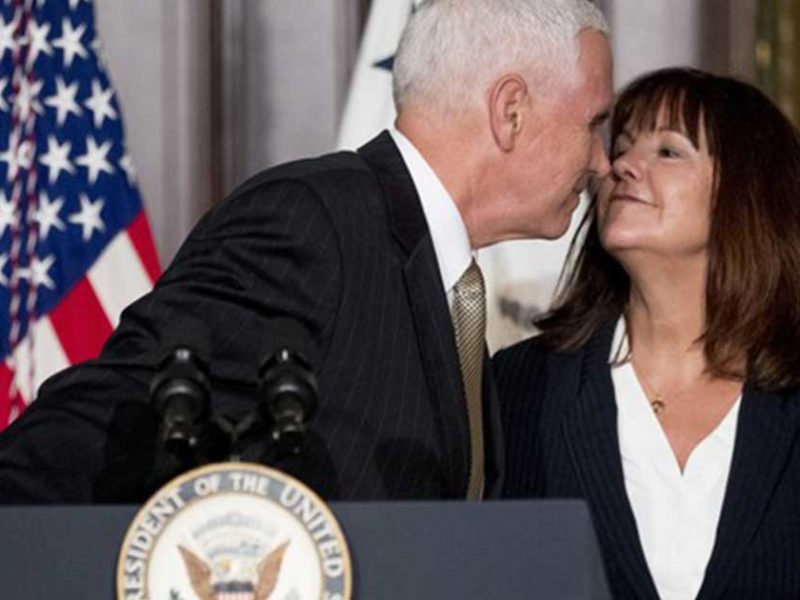 "Karen Pence, The ""Prayer Warrior"" Behind The Vice President"