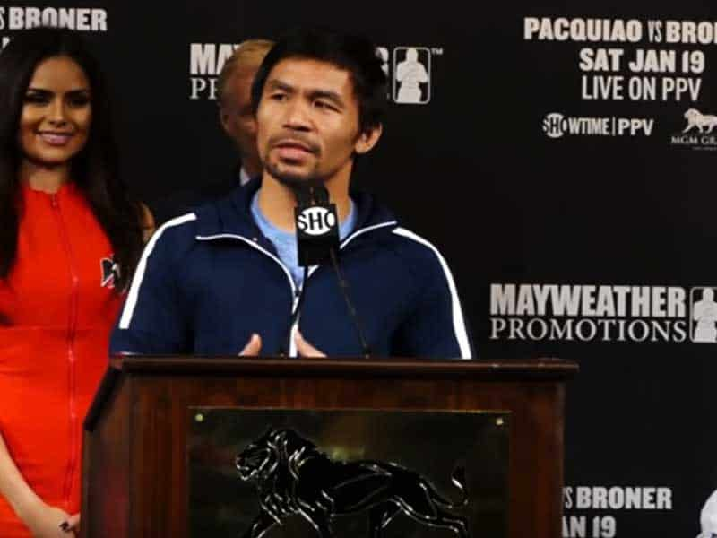 Champion Boxer Boldly Ends Speech With A Bible Verse At Final Press Conference