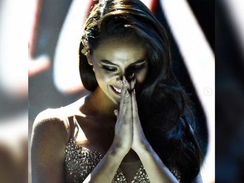 Newly Crowned Miss Universe Boldly Says She 'Can't Live Without God'