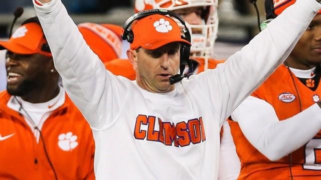 Clemson Tiger's Head Coach, Dabo Swinney, Praises God After National Championship Win