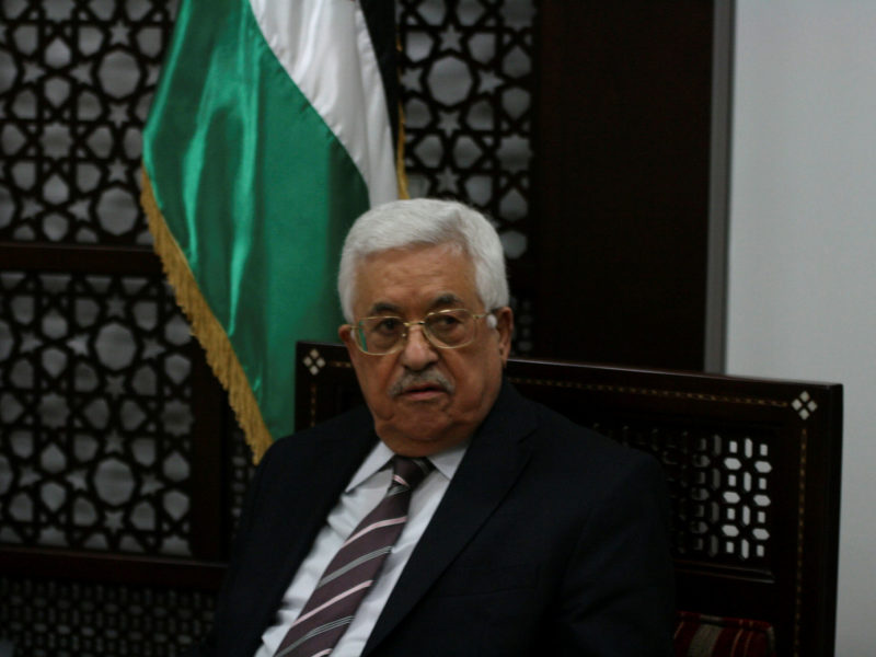 Abbas Hopes Israeli Elections 'Will Produce the One Who Truly Believes in Peace'