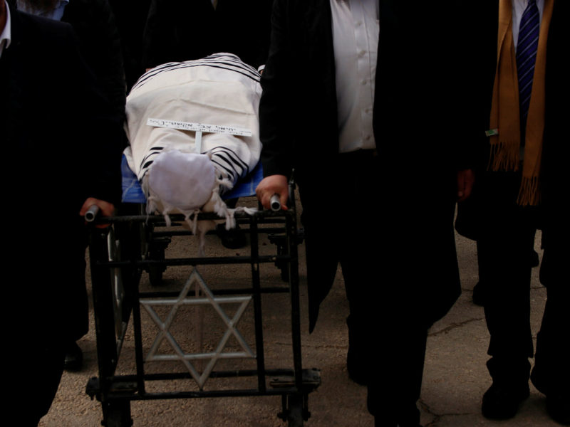 IFCJ Founder Rabbi Yechiel Eckstein Laid to Rest in Israel
