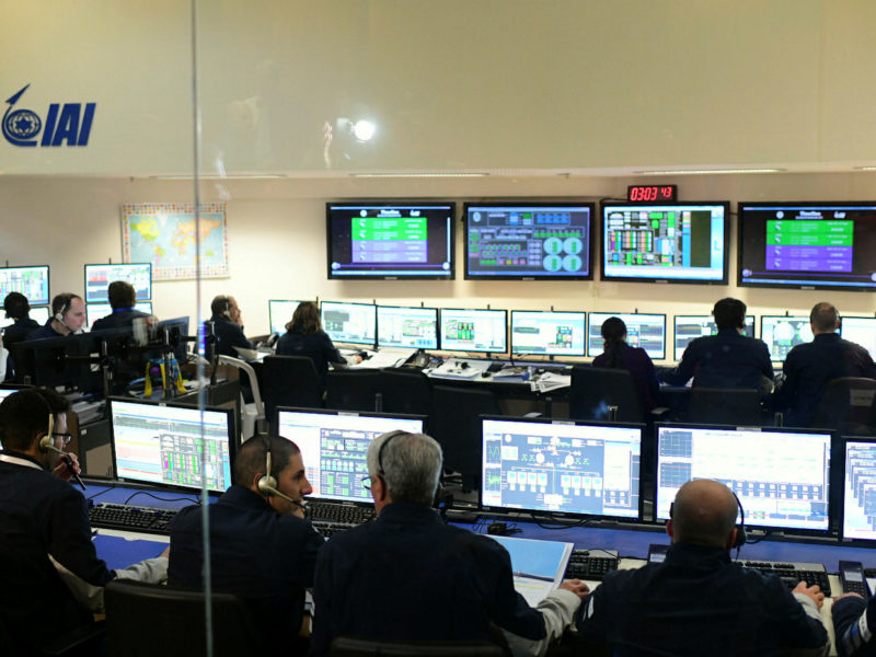 Israel's Beresheet Successfully Completes First Maneuver in Space