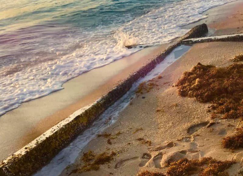 Giant Cross Washes Up On Florida Shore Bringing Hope