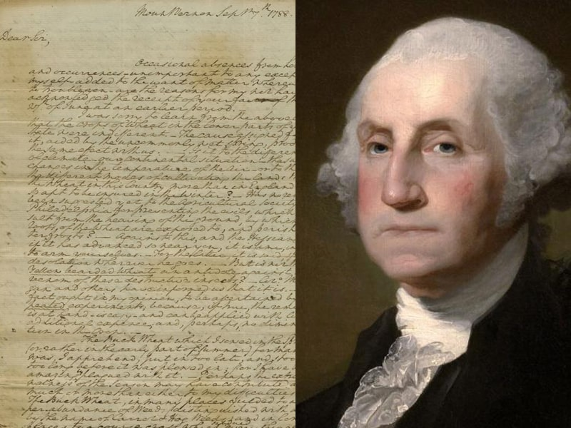 George Washington's Letter On God And The Constitution Surfaces