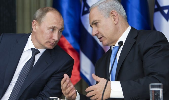Netanyahu Speaks with Putin