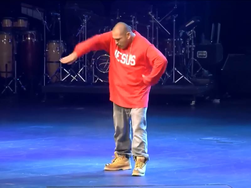 Ex-Gangster Puts On Armor Of God In Powerful Pop And Lock Dance