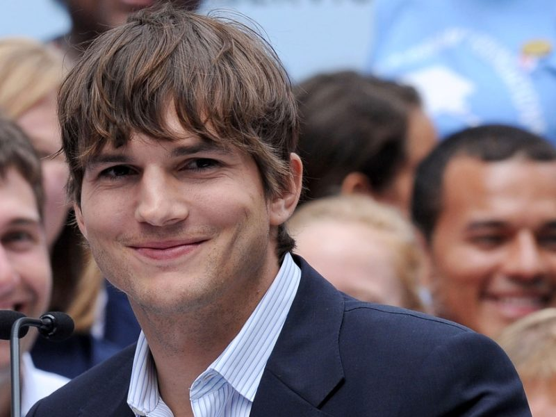 Ashton Kutcher Shares a Video With A Strong Pro-Life Message