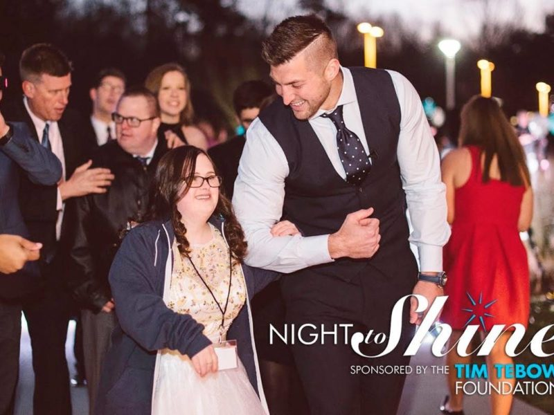 Tim Tebow Crowns People With Special Needs As Prom Kings And Queens During A Night To Shine
