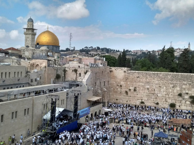Israeli Activists Call for Establishment of Synagogue on Temple Mount