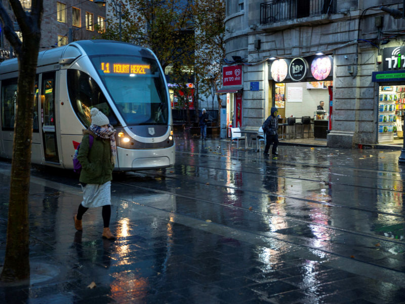 Rainfall in Israel Exceeds Annual Average for First Time in 5 Years