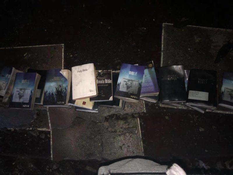 Bibles Survive a Devastating Church Fire
