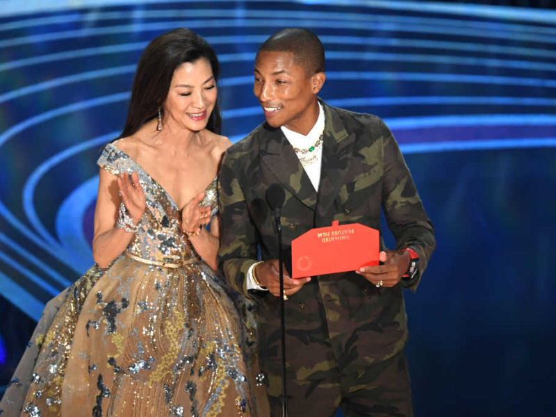 Pharrell Williams Shares Bible Verse During The Oscars