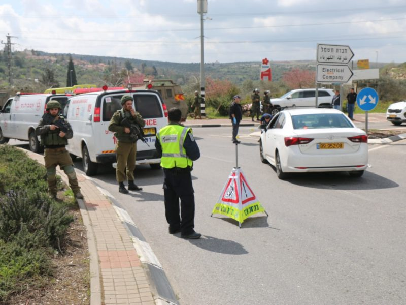 Terror Attack in Samaria; 1 Israeli Dead, 2 Wounded