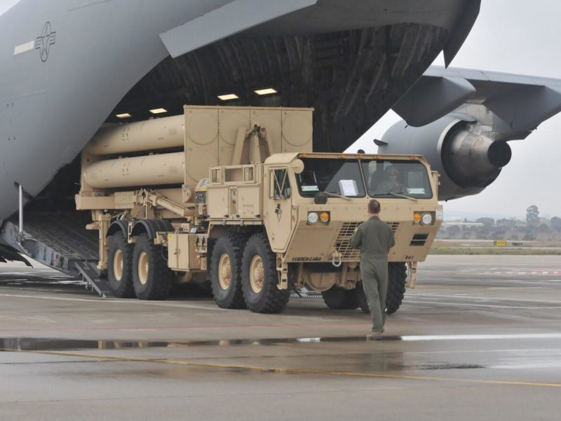 US Army Drills deploying Advanced THAAD Defense System to Israel