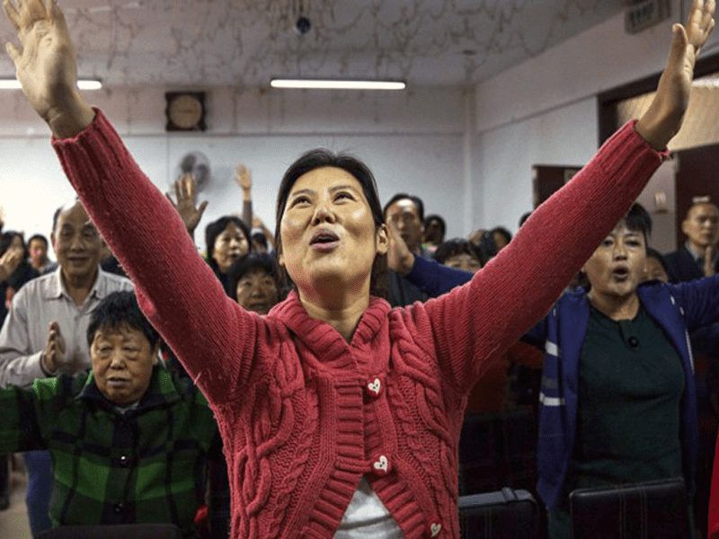 Joy And Tears As Chinese Christians Receive Their First Bible Ever