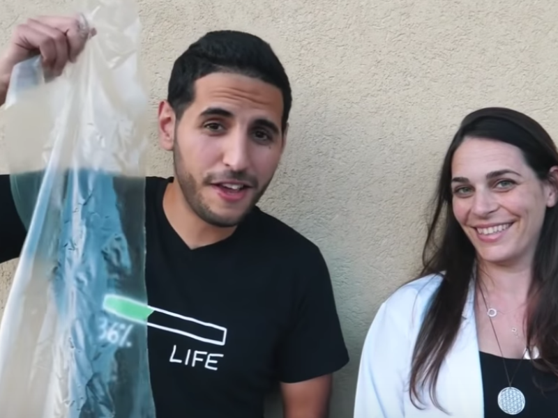 Israel Does It Again… Jewish Woman Invents A Replacement For Plastic