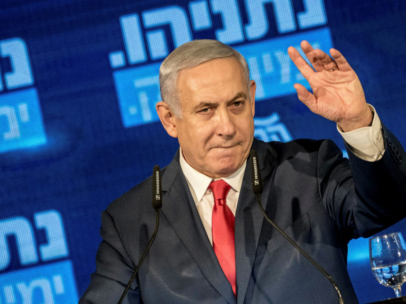 Exit Polls Show: Netanyahu Will Lead Next Government