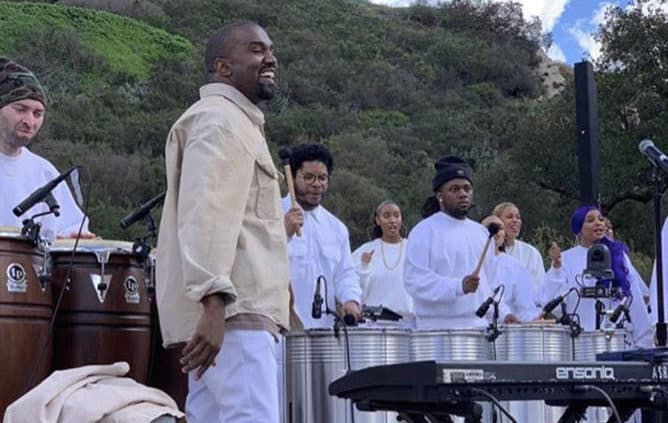 It's Easter, It's Coachella And Kanye West Is Bringing His Sunday Service To Town!