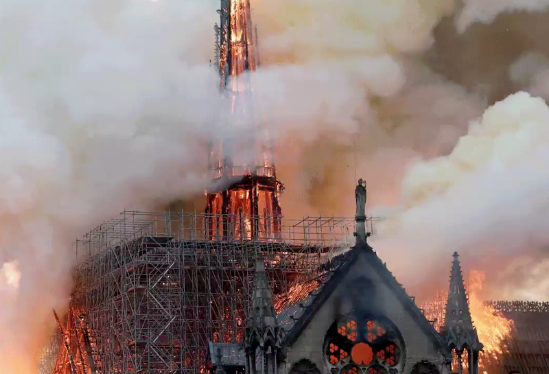 The World Joins France In Mourning After Notre Dame Cathedral Goes Up In Flames