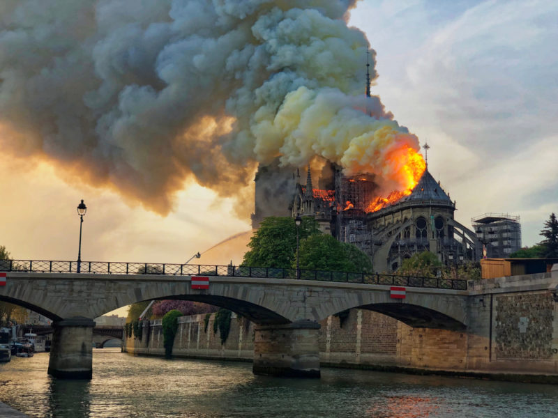 People Have Pledged Nearly $730 million to Rebuild Notre-Dame
