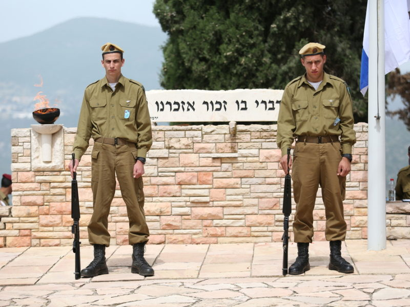 Israel's Memorial Day. The Jewish People Remember All Who Have Fallen