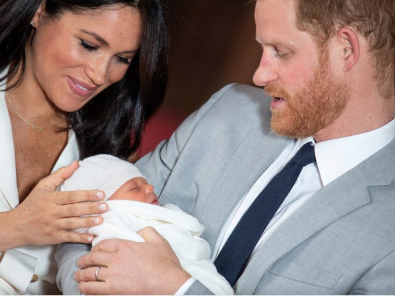 Prince Harry And Meghan Markle Introduce Newest Royal Baby To World