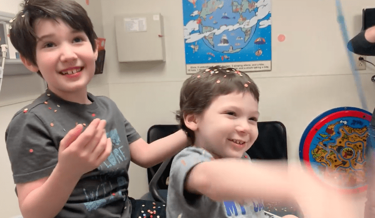 5-Year-Old Boy Wins Against Neuroblastoma