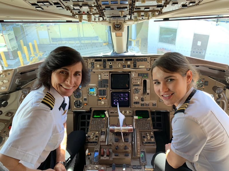 Photo Of Mother-Daughter Flying Team Goes Viral. Both Are Pilots!