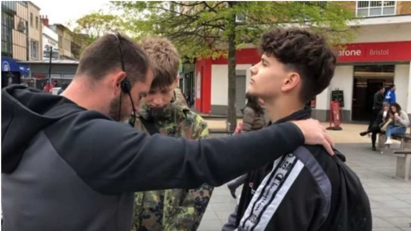 Agnostic Teens Confess Jesus As Lord  After Hearing The Gospel On The Street