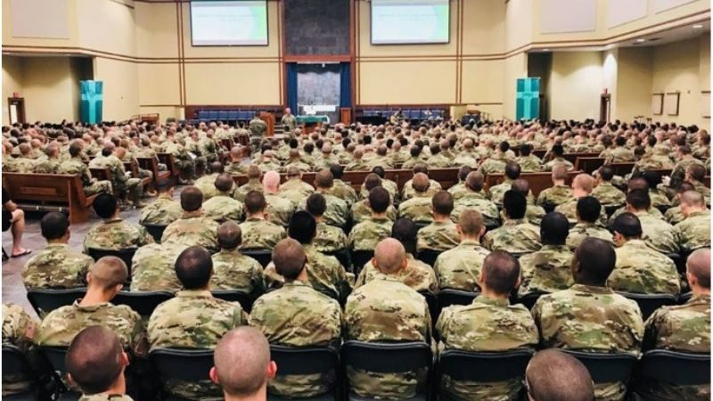 Revival Amongst US Troops  – 1,459 Soldiers Receive Jesus As Lord At Fort Leonard Wood